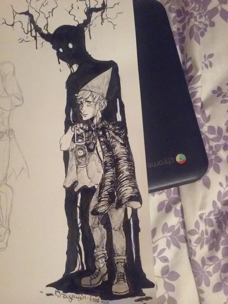 Inktober Day 5 (Wirt) by Tough-girl-freed