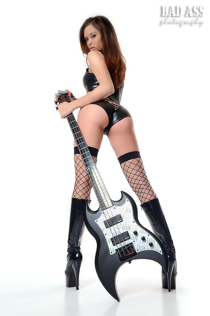 Christine bass guitar by Badassphotoguy