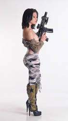 Emily girls with guns series. by Badassphotoguy