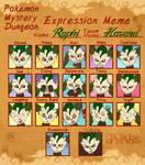 PMD Expression Meme - Raphi (Leafeon)