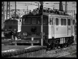 EU07 i EP07 na Wschodnim by Bieniek