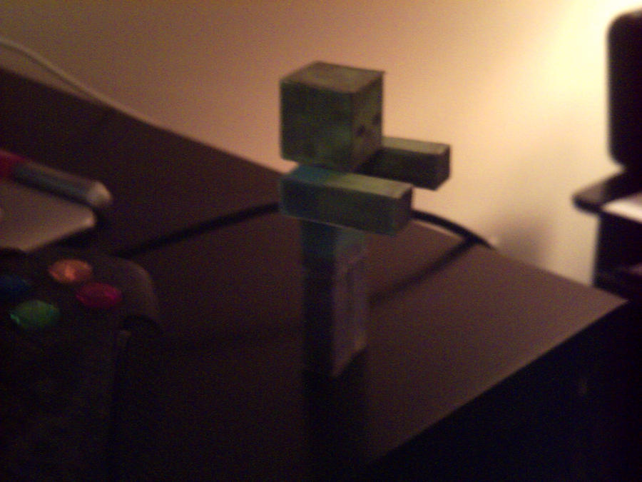 Minecraft zombie Papercraft by daredevil71789