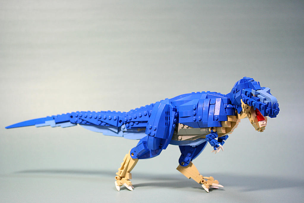 Tyrannosaurus-rex by aurore-and-aube