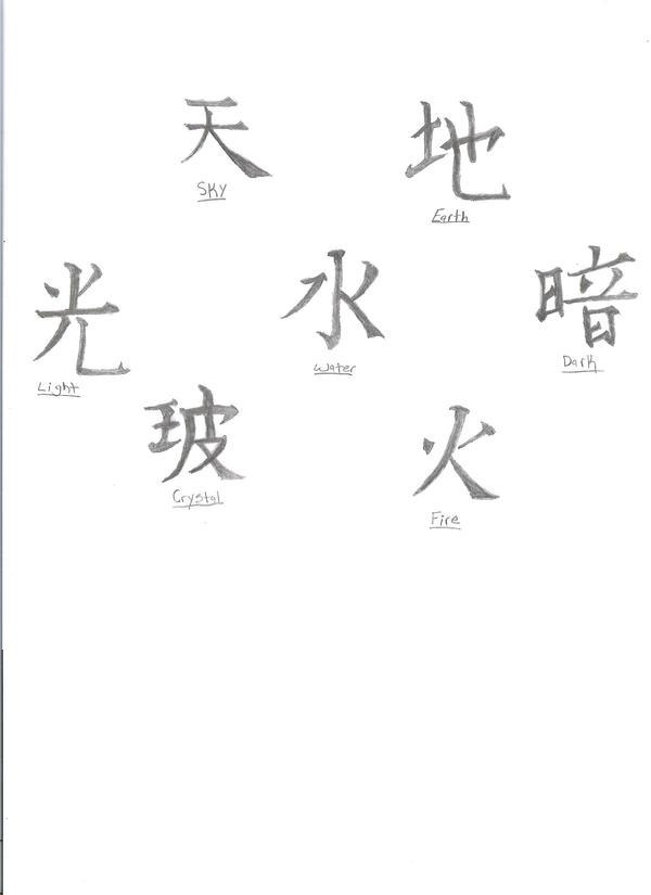 japanese element symbols honda
