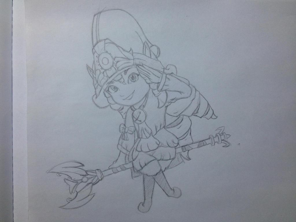 Dragon Trainer Lulu Sketch By Senhor-Estroncio On DeviantArt