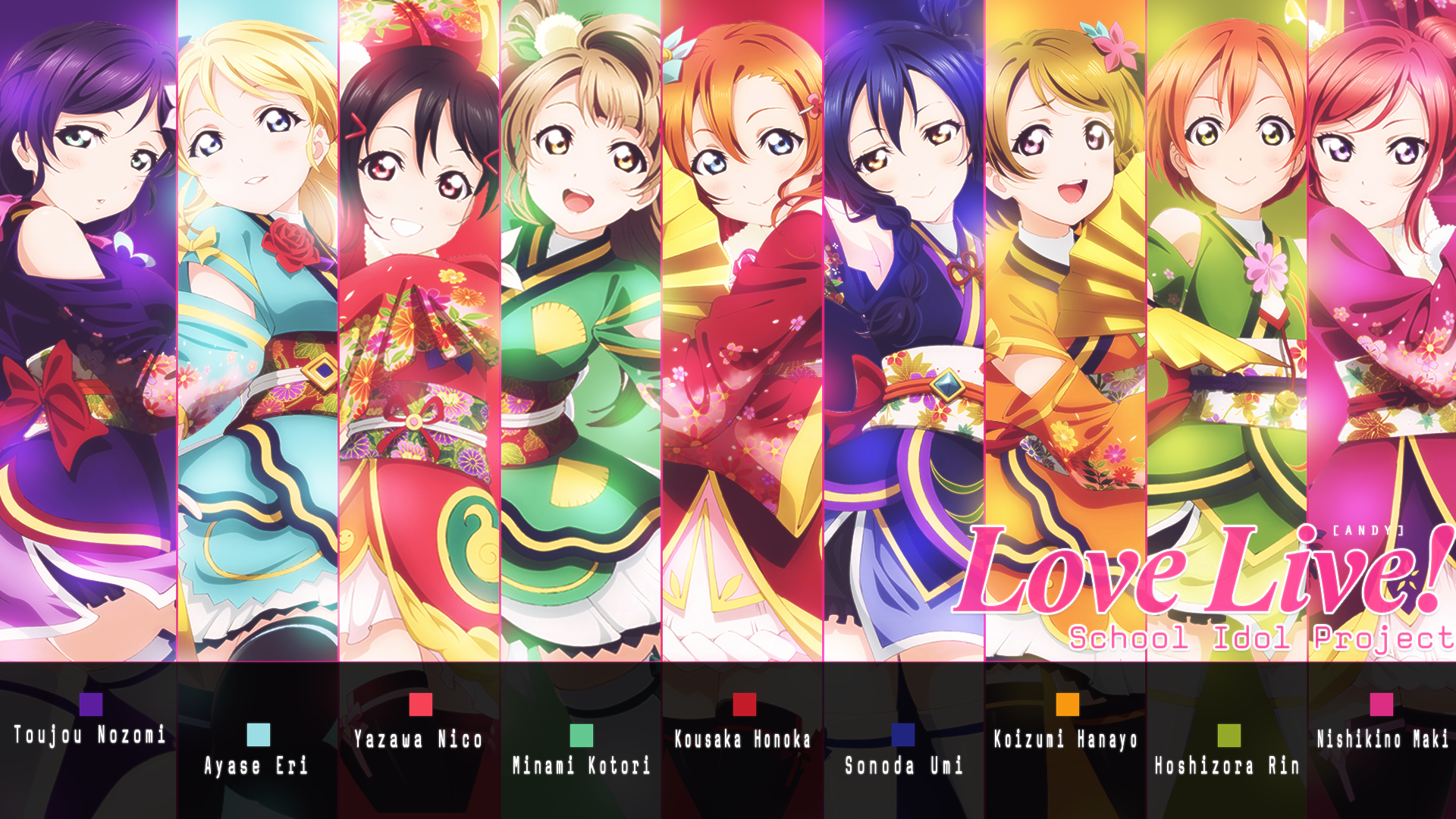 Love Live Wallpaper