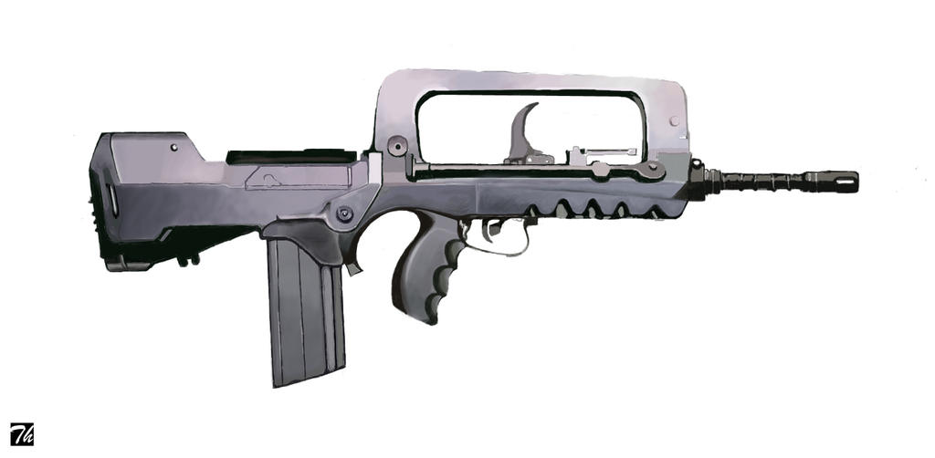 Famas f1 by Thieres on DeviantArt