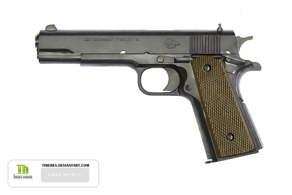 Colt m1911 by thieres on deviantart