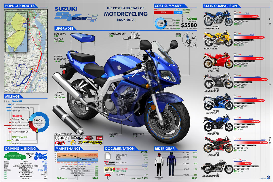 SV650 Infographic by dehahs