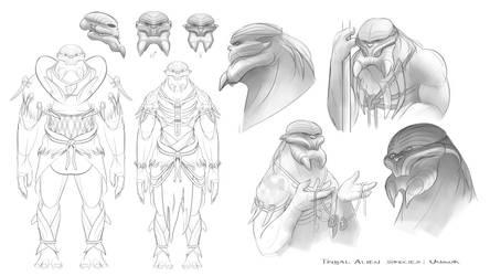 Tribal Alien Species: Unguk
