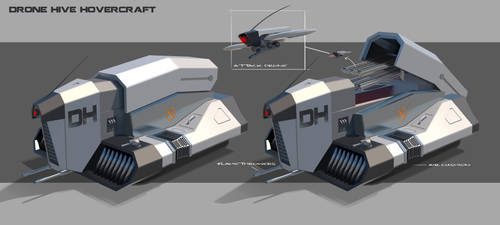 Drone Hive Hovercraft