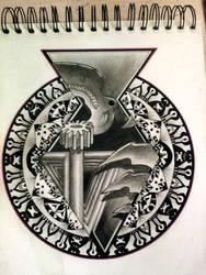 Tattoo Mandala Design