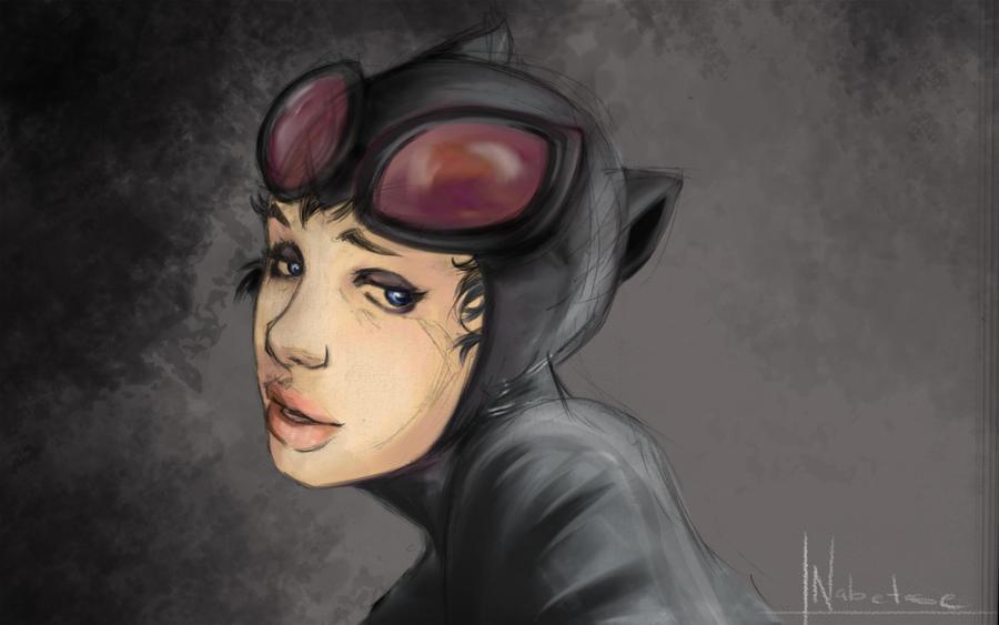 catwoman by EstebanRiveros