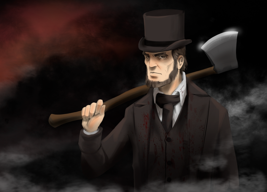Abraham Lincoln Vampire Hunter by EstebanRiveros