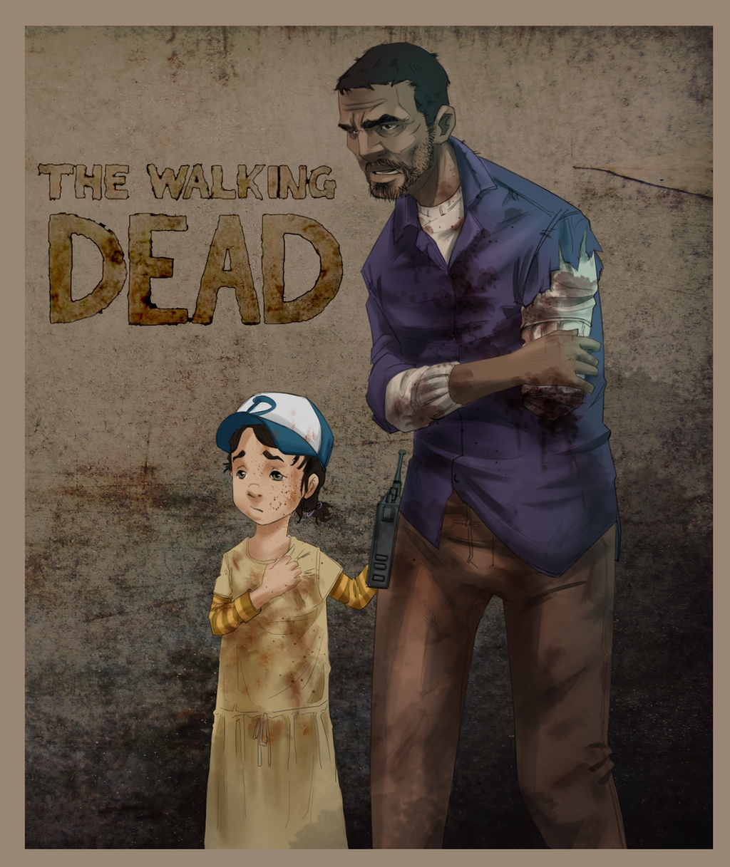 THE WALKING DEAD by EstebanRiveros