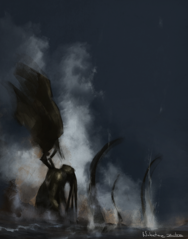 Cthulhu by EstebanRiveros