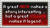 ..: heros vs. villains :.. by porcuMoose