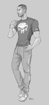 Frank In Workout Wear