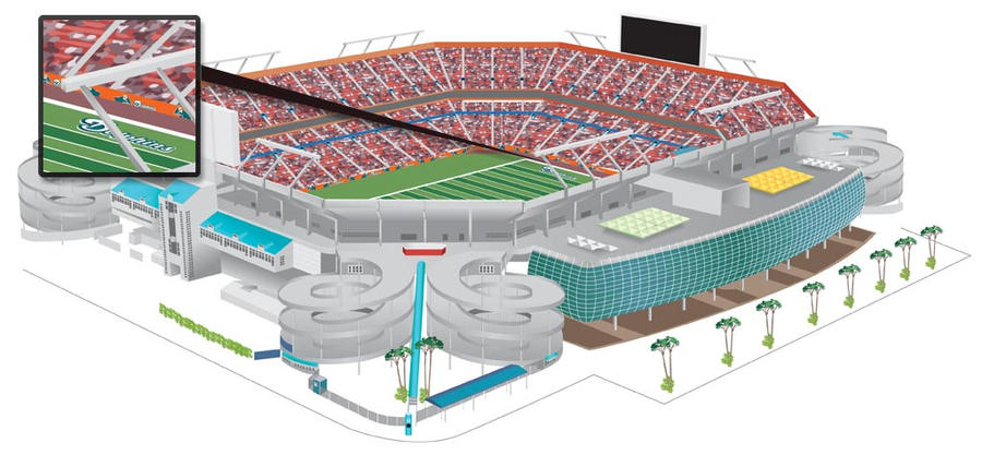 Dolphin S Sunlife Stadium By Ashmuth On Deviantart