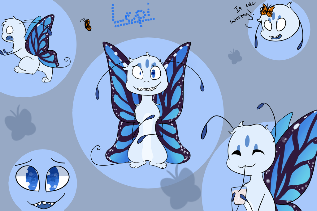 Lepi the 'butterfly' by Nevpaws