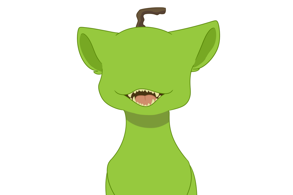 Pear cat by Nevpaws