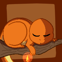 Pixel Charmander by Nevpaws