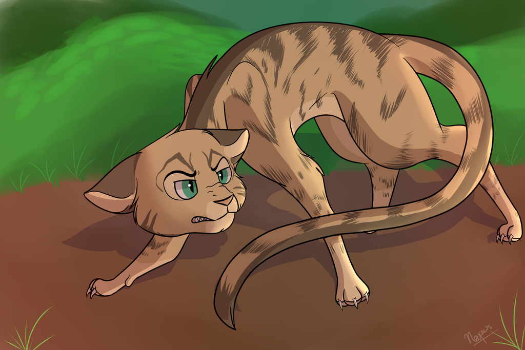 Angry Longtail by Nevpaws