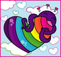 Octopus Love by twee2410