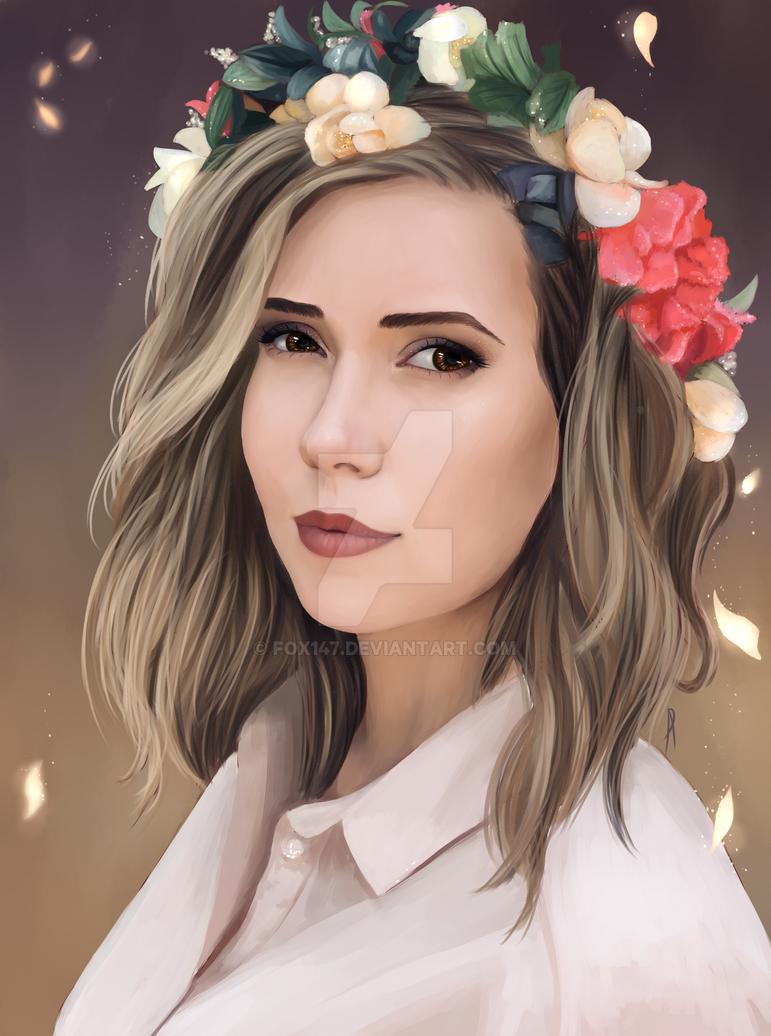Portrait by Fox147