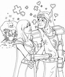 WoW - Warrior and Warlock WIP