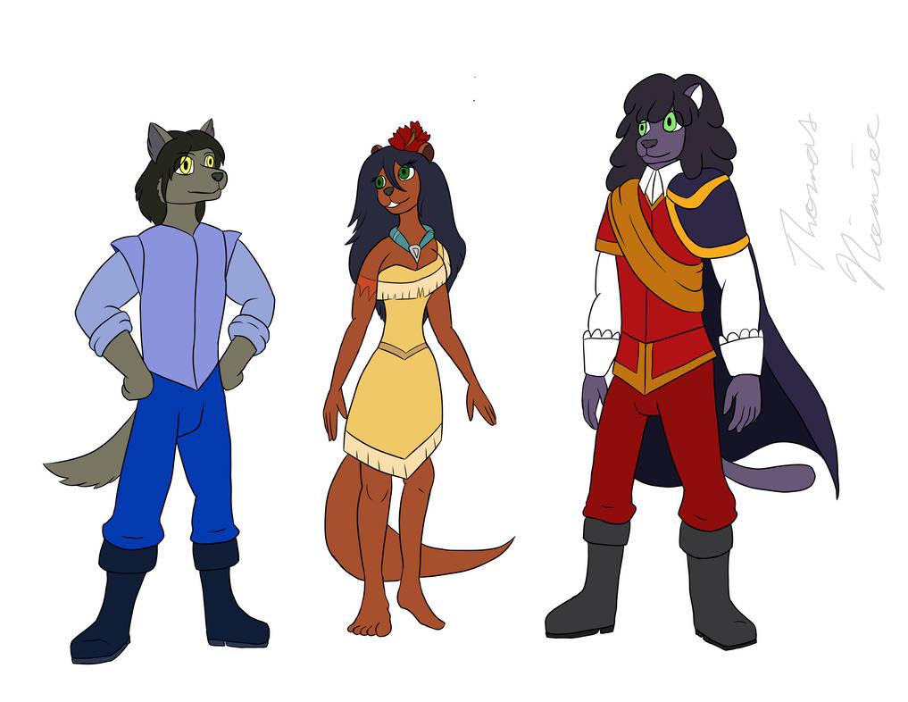Pocahontas Cast