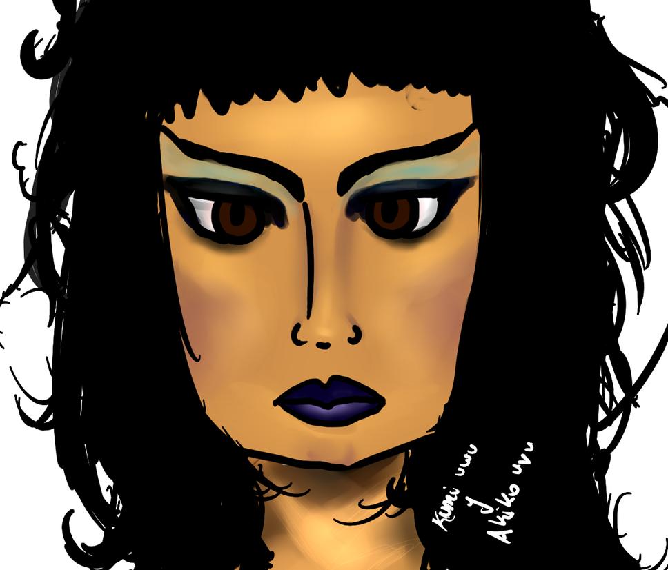 Elvira (Veronica) de la luz del topo by KUMIKOHIMEKO