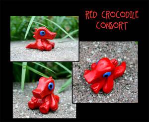Crocodile Consort Figurine