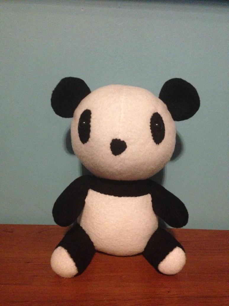 Panda Plushie by MajesticNikki