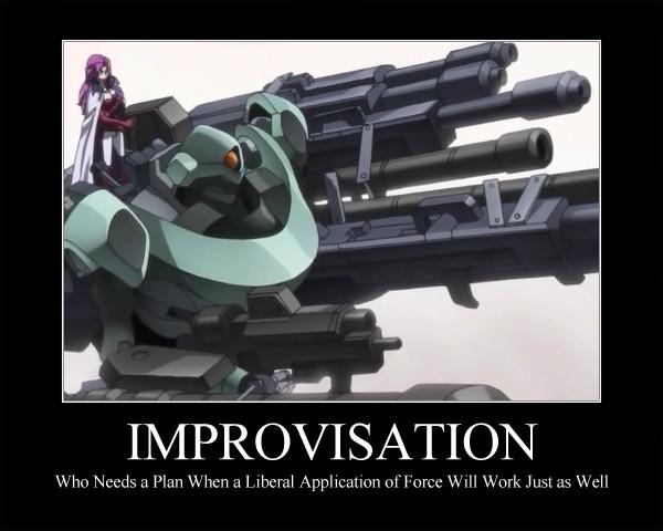 Improvisation by OrneryAmerican