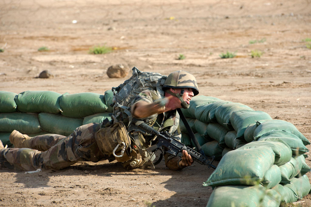 Grenade throw by OrneryAmerican