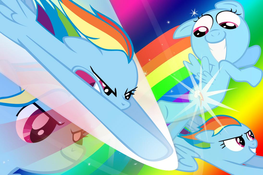 rainbow dash sphere background - photo #45