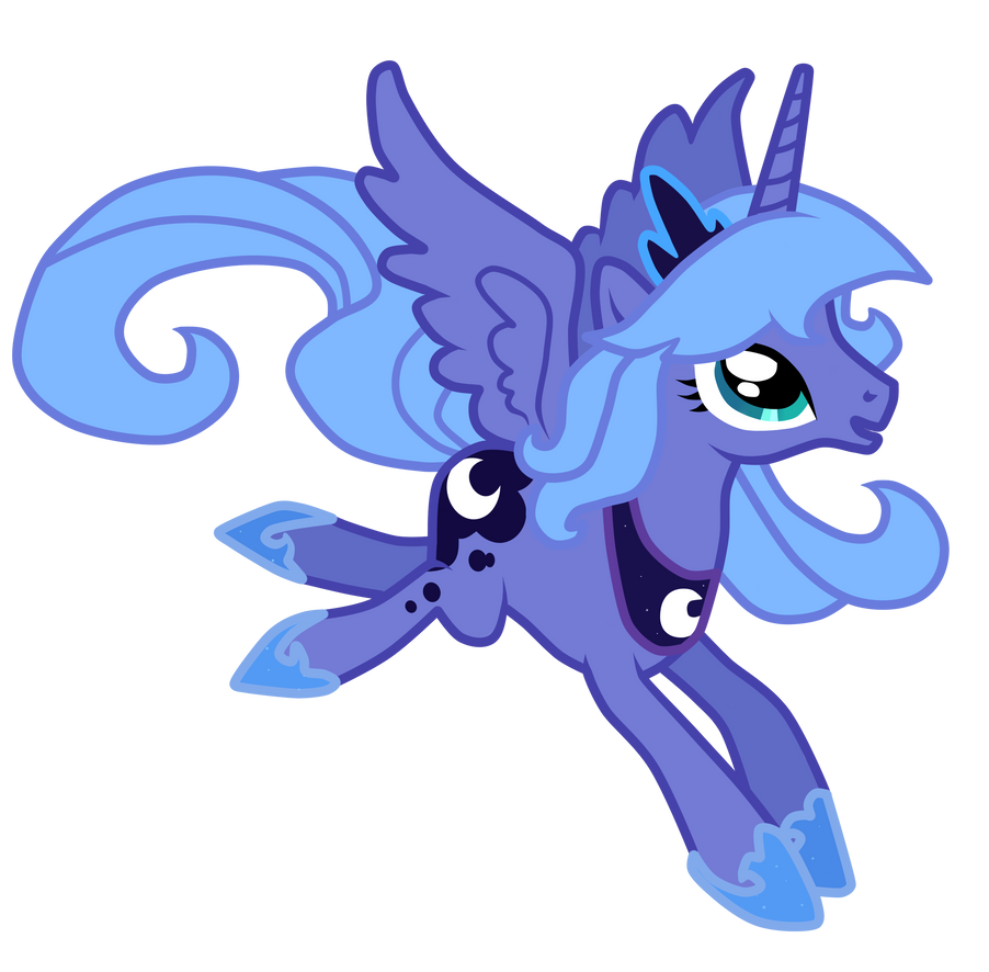 Princess Luna S1 by Luuandherdraws