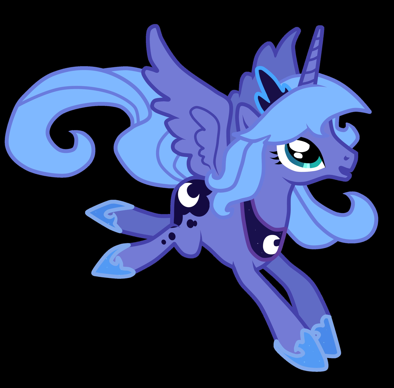Princess Luna S1 by Lu...
