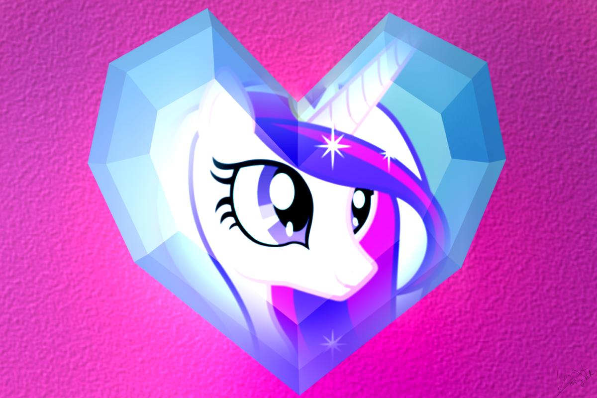 Crystal Princess Wallpaper by Luuandherdraws