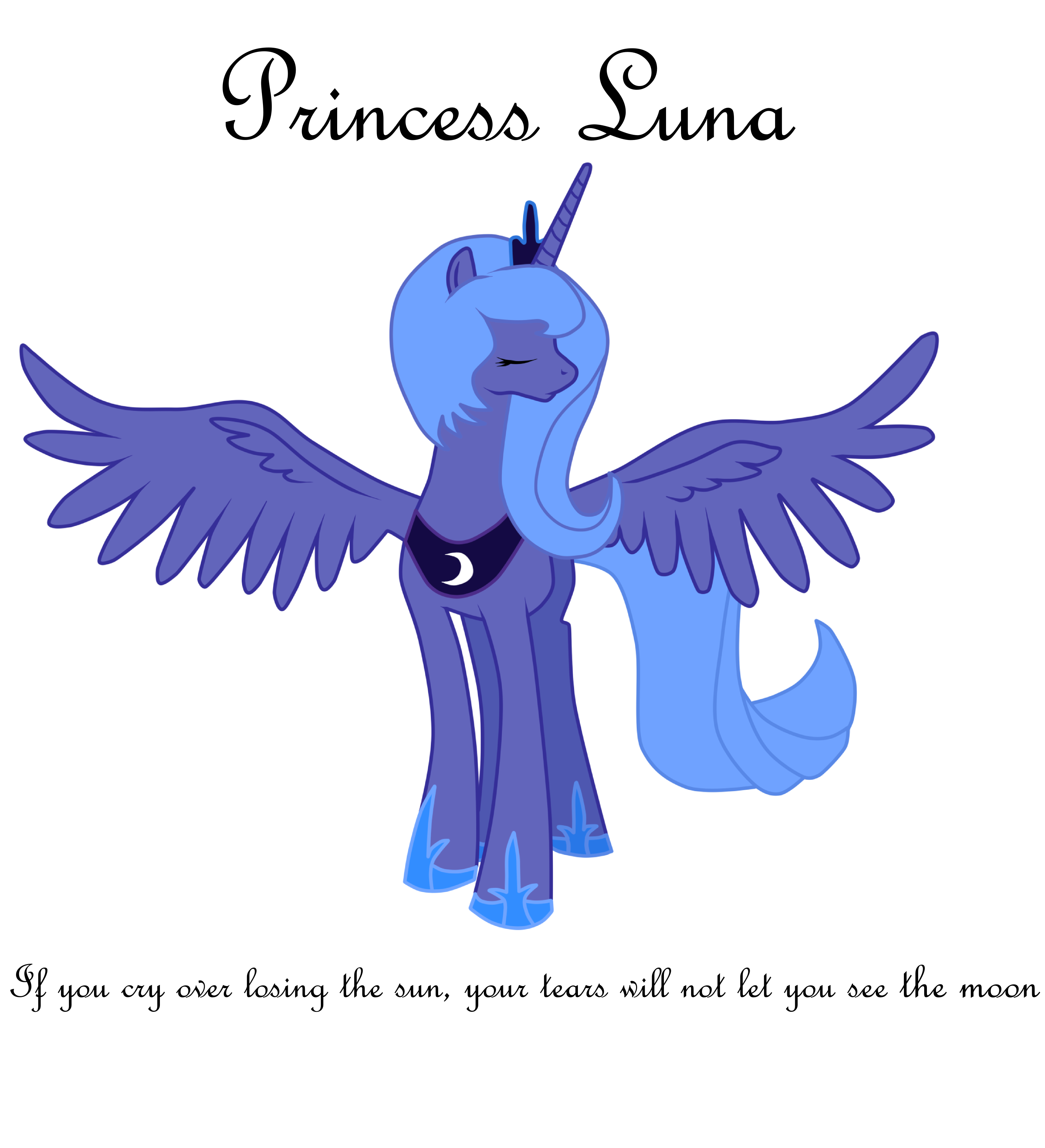 Princess Luna by Luuandherdraws