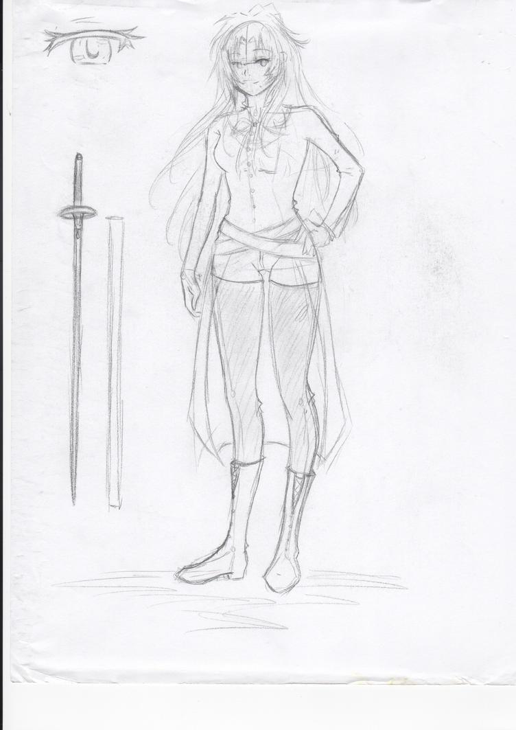 Raylen Sketch by XxAkaiAuraxX