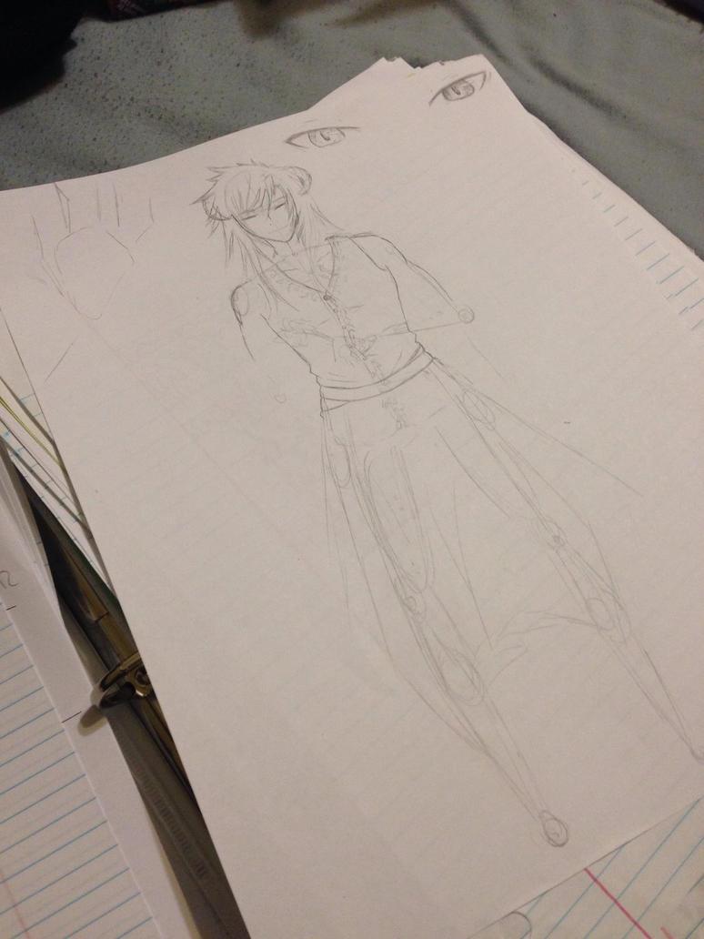 Character WIP by XxAkaiAuraxX