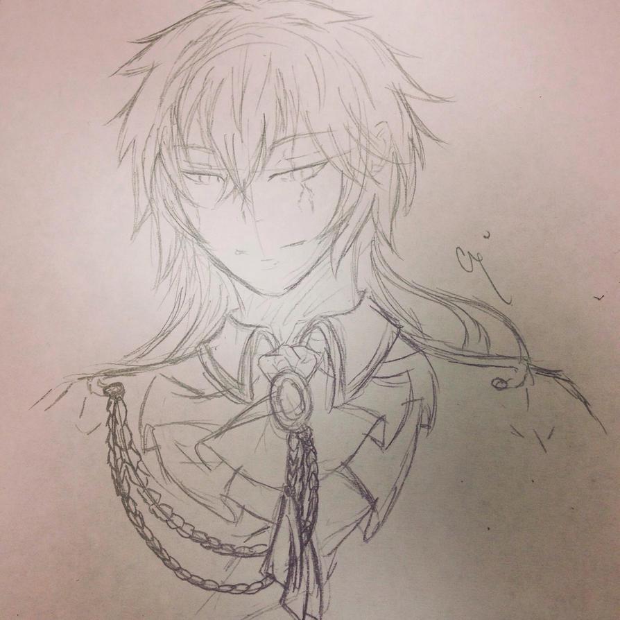 Vahlrelyn Sketch by XxAkaiAuraxX