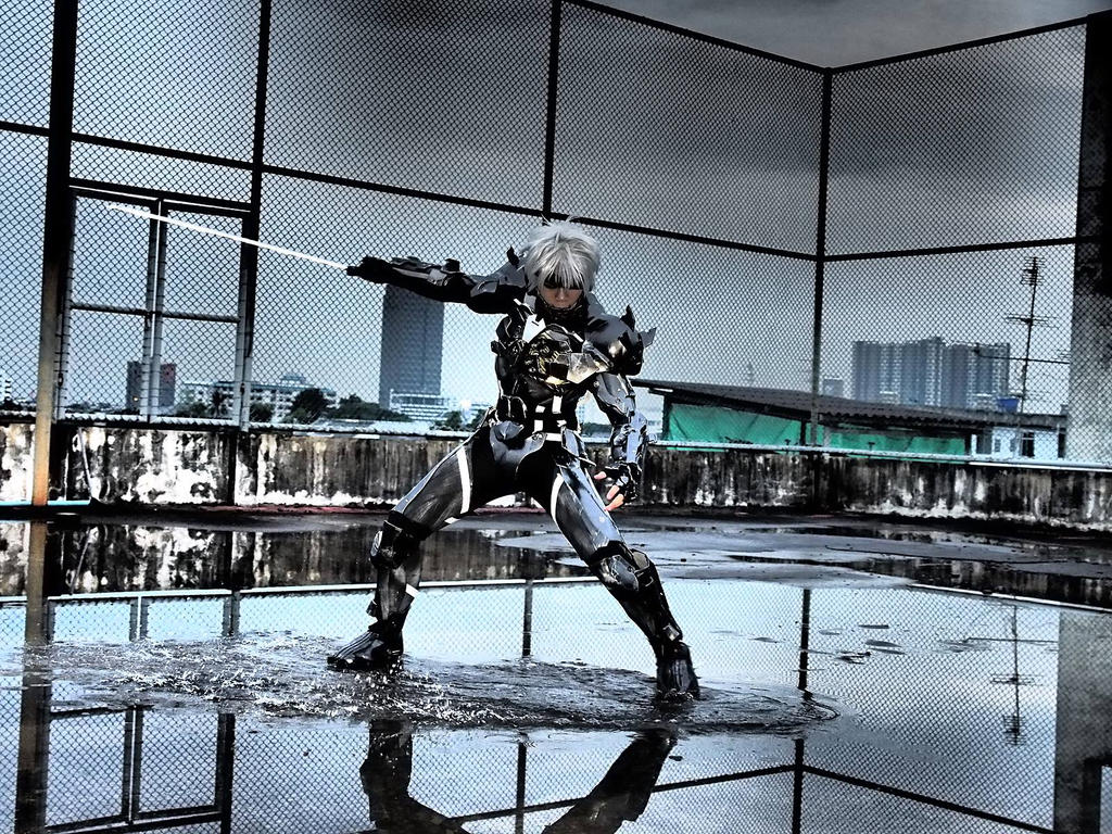 Raiden [Metal gear rising revengeance] by Villageshope