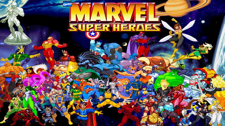 Marvel super heroes poster by riklaionel on deviantart - Poster super heros ...
