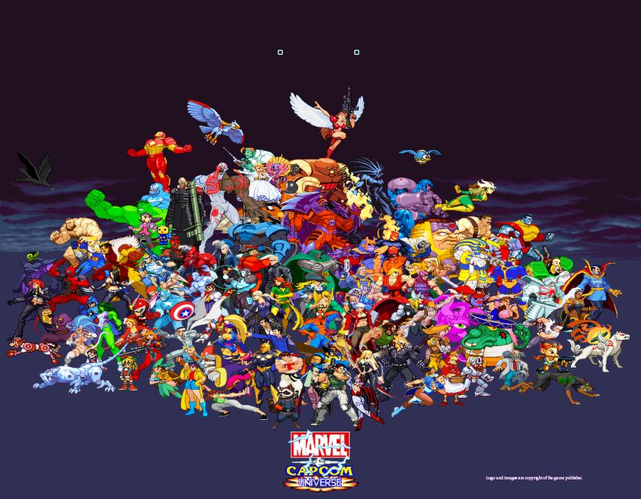 Marvel vs Capcom Universe by Riklaionel