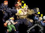 Resident evil 6 Ustanak battle