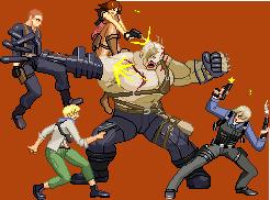 Resident evil 6 Ustanak battle by Riklaionel