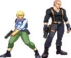 Jake Muller and Sherry Birkin by Riklaionel